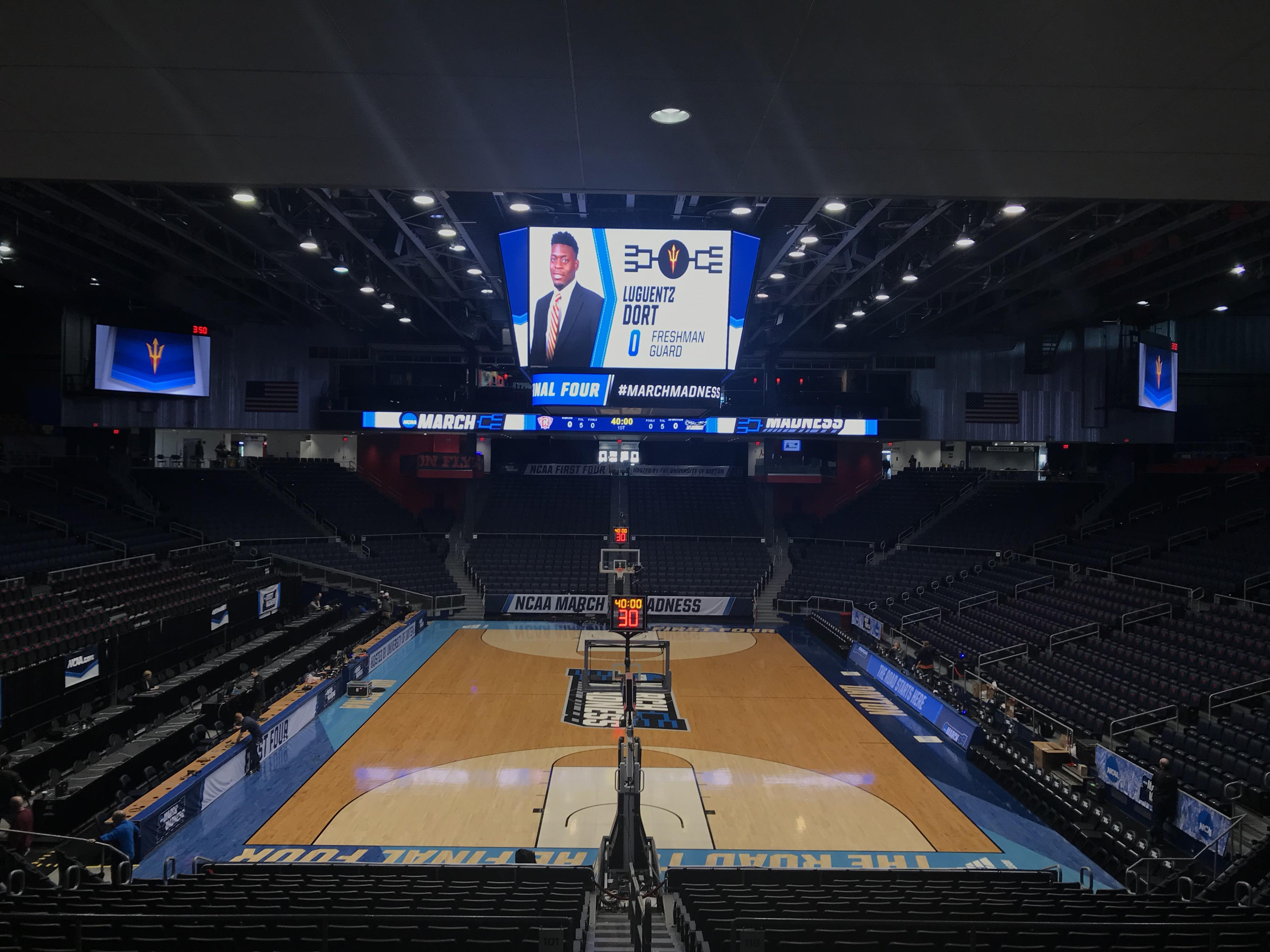 NCAA Video Board