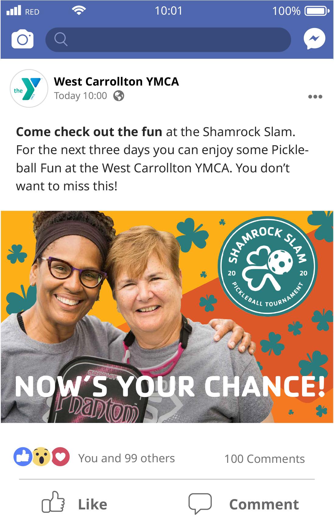 Shamrock Slam Facebook Post 3